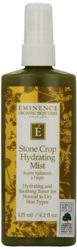 Eminencia orgánica cuidado de la piel piedra de cultivo bruma hidratante, 4,2 onzas
