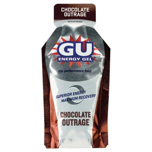 Laboratorios GU energía Gel Chocolate indignación--24 paquetes