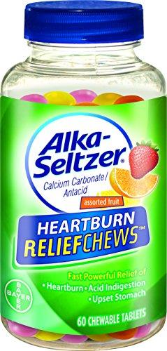 Alka-Seltzer alivio de acidez mastica, cuenta 60