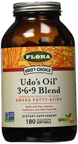 Elección de Udo - aceite 3-6-9 cápsulas Udo de mezcla - cuenta 180 (FFP)