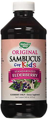 Forma Sambucus de la naturaleza para niños certificado por Bio saúco, 8 onzas