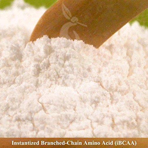 Polvo a granel de aminoácido de cadena ramificada instantáneo puro (500 gramos)