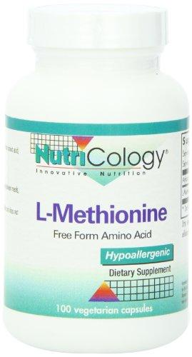 L-metionina 500 Mg 100 Caps vegetariana