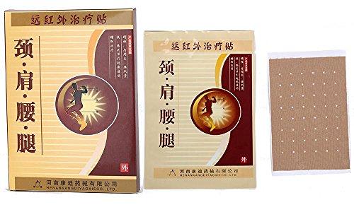 JJYT chino caliente Ttreatment antigua de yeso para invierno conjunta dolores, especialmente nieve/lluvia, aliviar el dolor de hombro cintura/espalda/rodilla, 16 cajas de parches/2