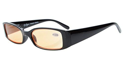 Eyekepper resorte bisagra la protección Ultravioleta, Anti Glare, Anti rayos azul, resistente a los arañazos lentes computadora lectura gafas lectores + 1,0