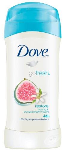 Dove go fresh desodorante antitranspirante, restaurar 2.6 onzas