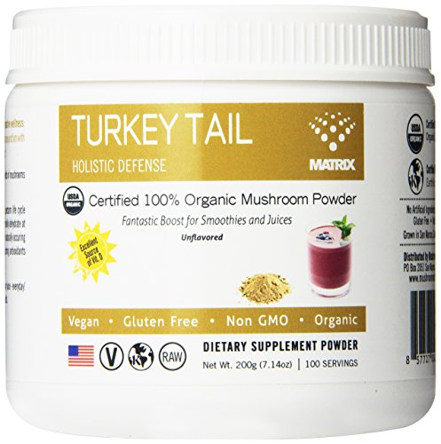 Matriz de setas Turquía cola orgánica polvo, onza 7,14