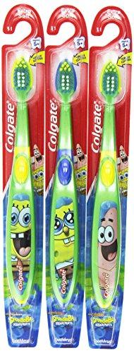 Cepillo dental Colgate Bob esponja Extra suave niños (paquete de 6)