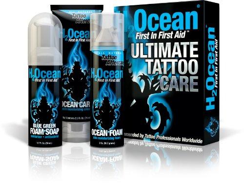 Kit de cuidado de tatuaje final H2Ocean, 6,2 onzas