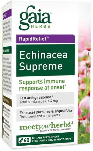 Echinacea Suprema - 60 caps, (hierbas de Gaia)