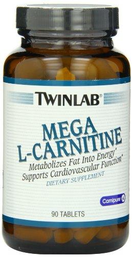 Twinlab Mega L-carnitina 500mg, 90 tabletas