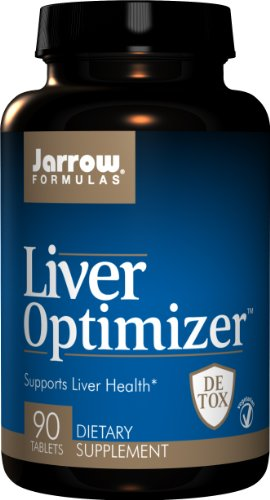 Jarrow Formulas optimizador de hígado, 90 tabletas