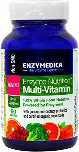 Enzima nutrición - vitaminas de la mujer - 100% alimentos nutrición, 60 cápsulas (FFP)