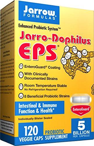 Probiótico de Jarrow Formulas Jarro-dophilus EPS de 120 VegiCapsules