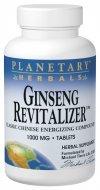 Planetario hierbas Ginseng revitalizador, 964 mg, tabletas, 180 tabletas