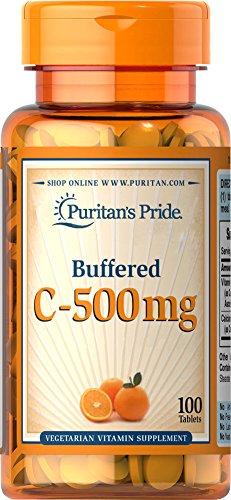 Pride de Puritan tamponada vitamina C 500 mg calcio ascorbato-100 tabletas