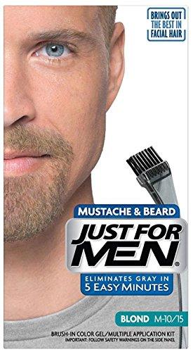 Solo para hombres cepillo en Color bigote y barba, Sandy Rubio