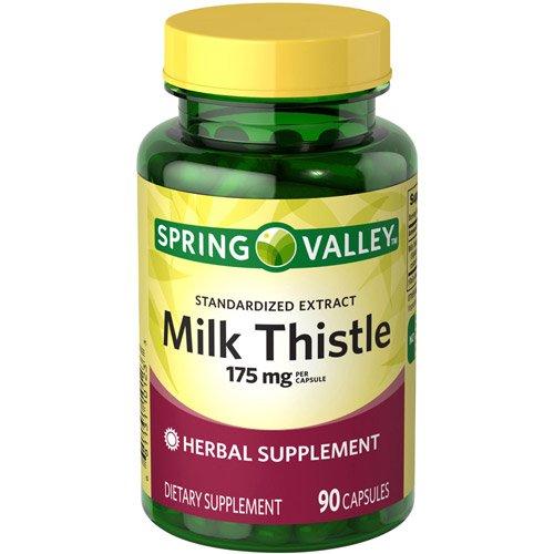 Spring Valley - cardo de leche 175 mg, 90 cápsulas