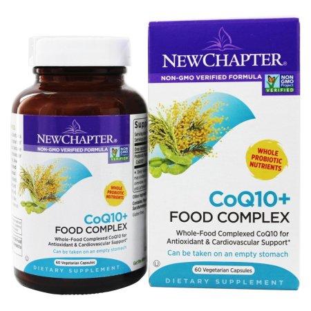 New Chapter - Complejo CoQ10 + Alimentación - 60 cápsulas vegetales