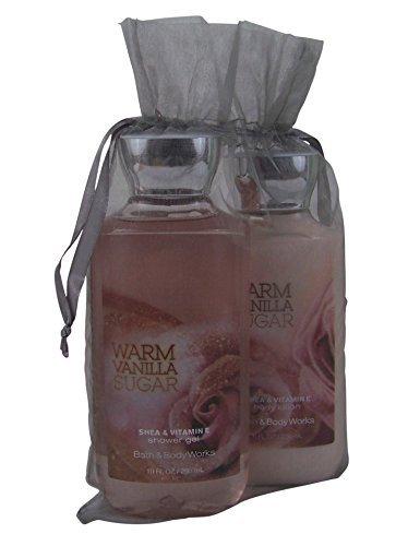 Set de regalo de azúcar de vainilla caliente baño & Body Works paquete de 2 objetos: Gel de ducha y loción corporal