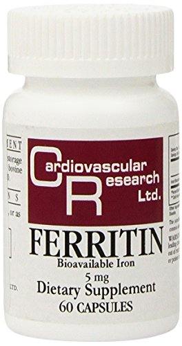 Investigación cardiovascular ferritina tabletas, cuenta 60