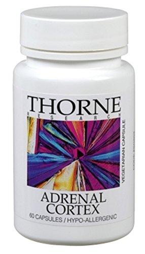 Thorne Research corteza suprarrenal 60 cápsulas
