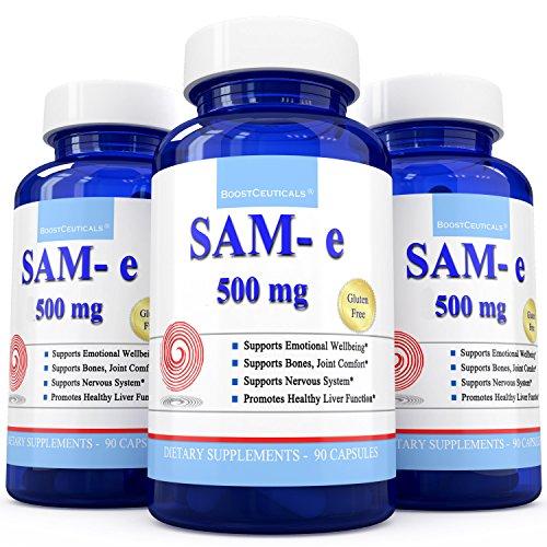 BoostCeuticals Sam-e 500mg 90 cuenta suplemento