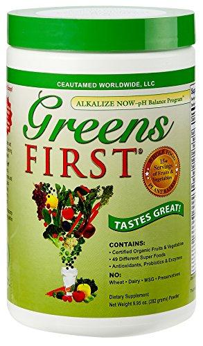 Verdes primera nutrientes ricos en antioxidantes súper alimento, 9,95 onzas