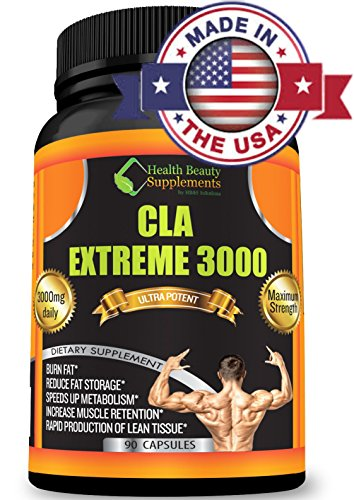 ★ *** CLA EXTREME 3000 *** ★el más potente y probada calidad farmacéutica adelgazar suplemento dietético está aquí por la marca que te trajo el mejor Garcinia Cambogia y el Colon Cleanse combinado!
