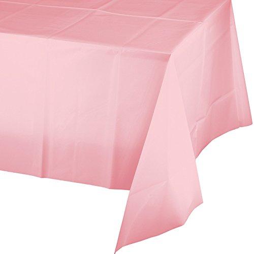 Creativo de convertir el toque de Color cubierta de tabla plástica, 54 por 108 pulgadas, clásico rosa