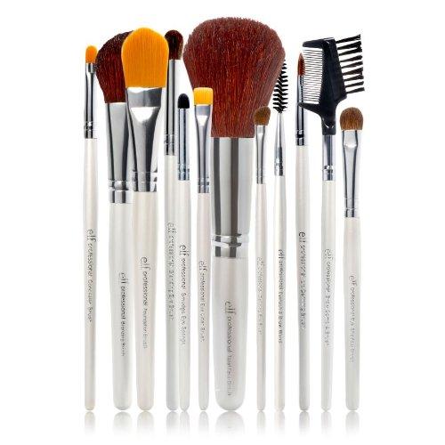 e.l.f. cosméticos 12 piezas cepillo conjunto