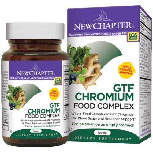 Nuevo capítulo GTF cromo alimento complejo, 60 comprimidos