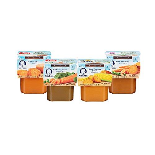GERBER 2 paquete de la variedad de alimentos, verduras, 8 onzas (Pack 16)