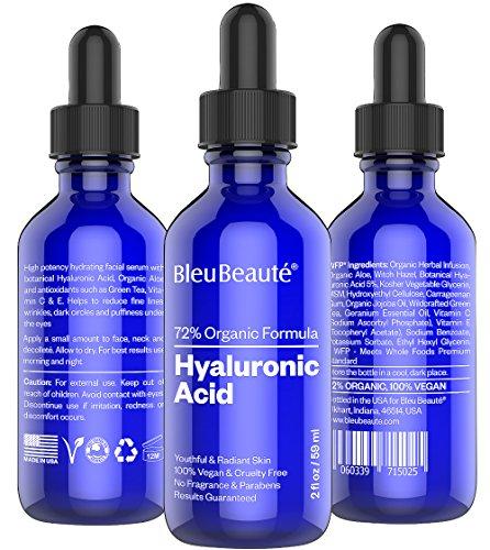 BIG - 2 oz de ácido hialurónico - alta potencia hidratante suero facial - que obras o su devolución!