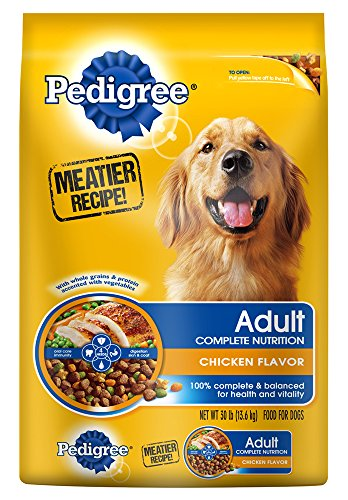 Alimentos para perros PEDIGREE adulto pollo sabor 36 libras
