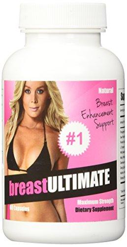 breastULTIMATE píldoras de la ampliación de mama - todo Natural femenina mejora fórmula - 60 cápsulas