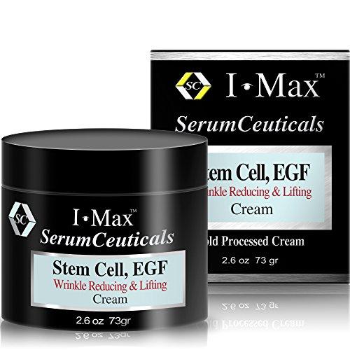 I Max arrugas crema de reducción y elevación fortificada por la célula de vástago, EGF y péptidos a Boost colágeno, borra las líneas finas, arrugas profundas Bajío, apriete la piel flácida y levantar piel cedió.