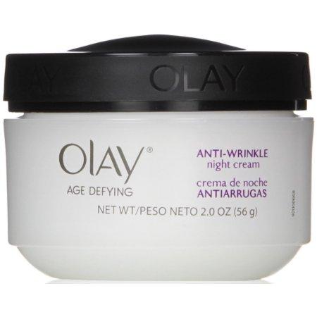 Olay Age Defying Antiarrugas Regeneradora Noche Crema 2 oz (Pack de 2)
