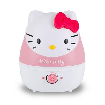 Adorable grúa por ultrasonidos humidificador de vapor frío - Hello Kitty
