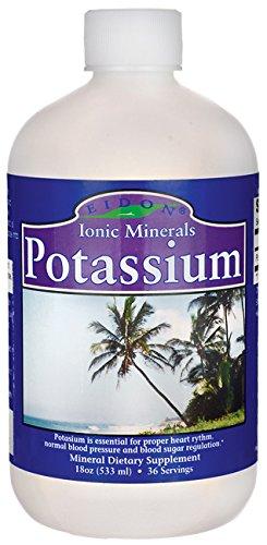 Eidon minerales iónicos de potasio 19 oz líquido