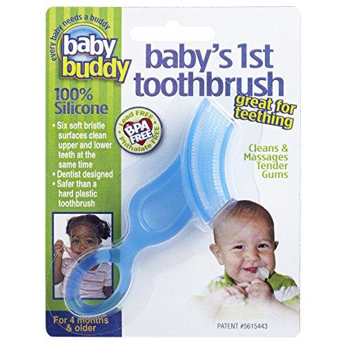 Cepillo de dientes 1 de Buddy bebé, azul