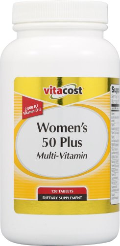 Vitacost mujeres 50 Plus Multi vitamina--120 tabletas
