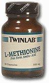 L-metionina 500mg Caps de Twinlab, Inc 30