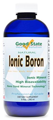 Boro líquido minerales iónicos (96 días en 5 mg. -) más 2 Mg de ácido de Fulvic