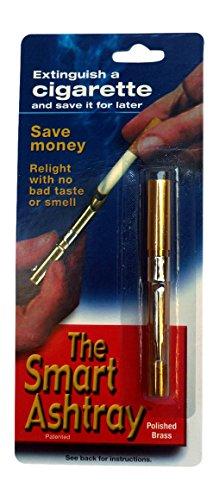 Tubo-It con el tubo de elegante cenicero el protector Original de cigarrillo y Snub y caso, Metal, solo