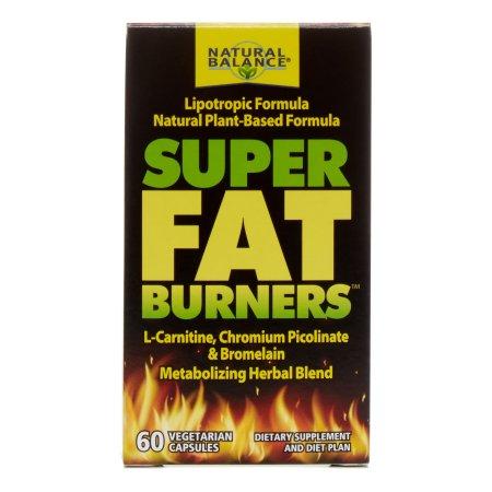 Natural Balance Súper Quemadores de grasa 60 Cápsulas