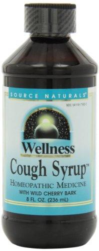 Source Naturals bienestar jarabe para la tos con corteza de cerezo silvestre, 8 onzas
