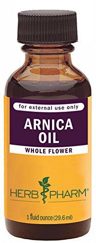 Hierba Pharm certificado aceite de árnica ecológica - 1 onza
