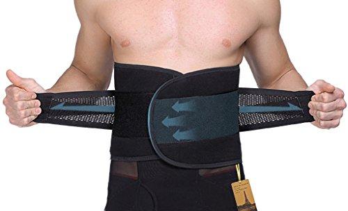 """30""""- 40"""" cintura de Velcro ajustable peso pérdida adelgazar cinturón cintura Trimmer para hombres y mujeres"""