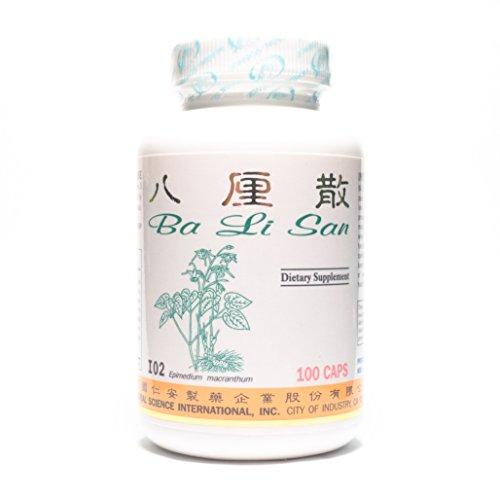 Lesiones fórmula dieta suplemento 500mg 100 cápsulas (Ba Li San) 100% hierbas naturales